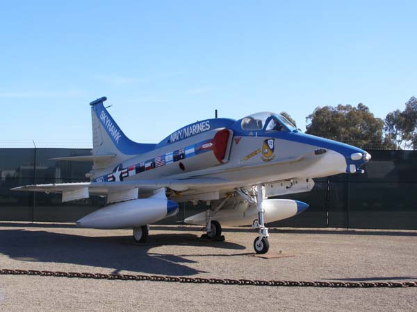 A4M Skyhawk II Flying Leatherneck Aviation Museum