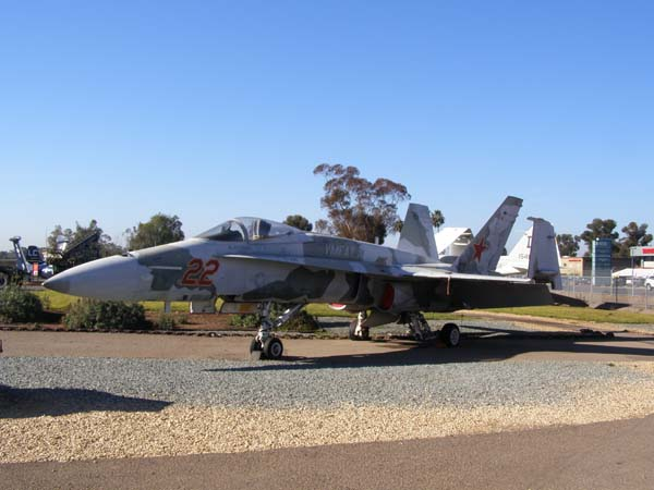 McDonnell Douglas FA-18A Hornet Adversary Flying Leatherneck Aviation Museum