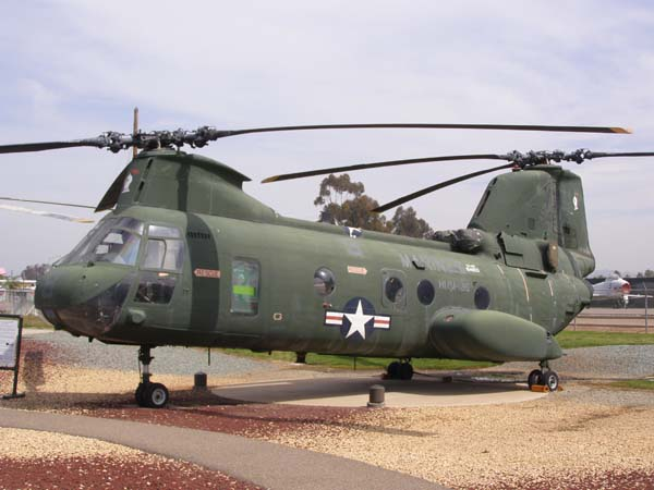 Boeing Vertol Sea Knight CH-46 Helicopter