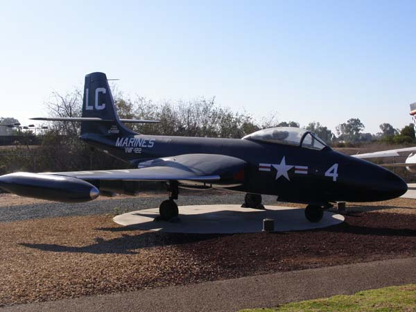 IMcDonnell F2H 2 Banshee Flying Leatherneck Aviation Museum