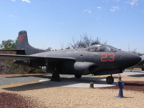Douglas F3D Skyknight Flying Leatherneck Historical Aviation Museum San Diego