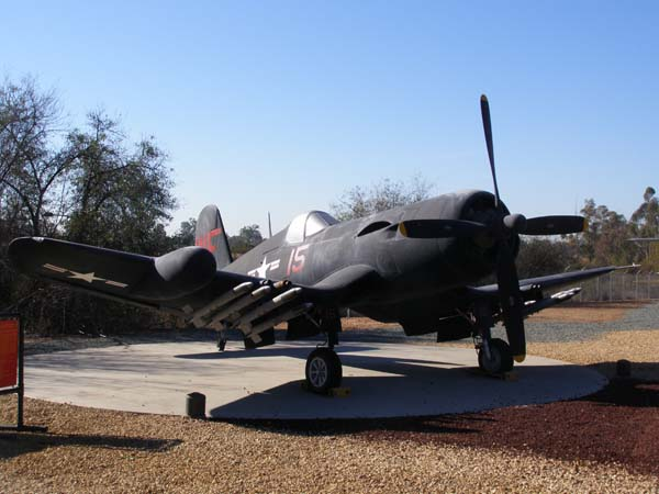 Chance Vought F4U-5N Corsair Flying Leatherneck Aviation Museum