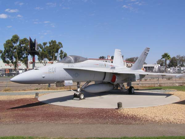 McDonnell Douglas FA-18A Hornet Flying Leatherneck Historical Aviation Museum San Diego