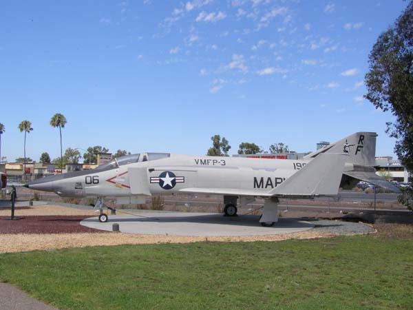 McDonnell Douglas RF-4B Phantom II Flying Leatherneck Aviation Museum