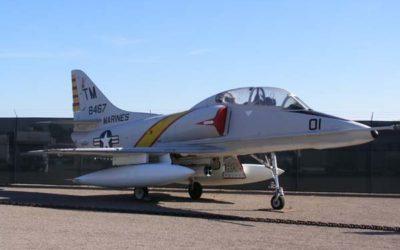 December Aircraft Spotlight TA-4J Skyhawk