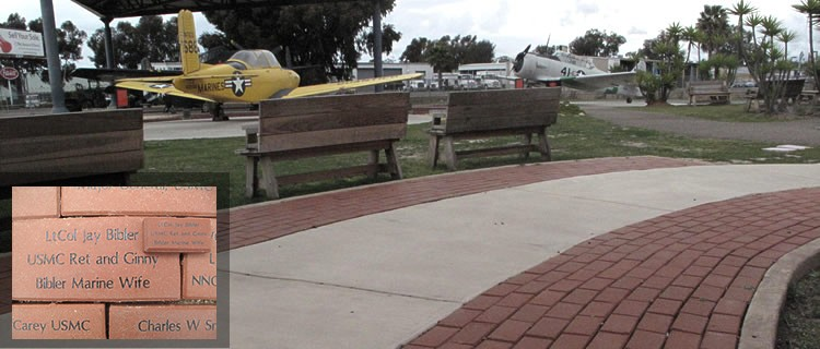 The Flying Leatherneck Historical Foundation Walk of Memories