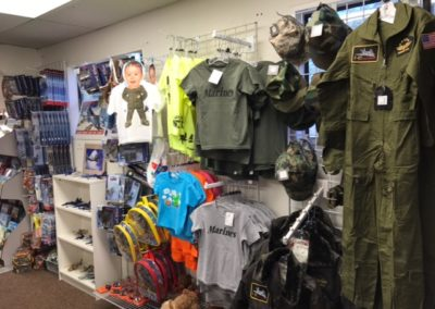 Aviation Kids Clothing & Toys museum store products