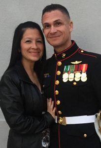 2018 Marine Wife of Year Traci Wilson