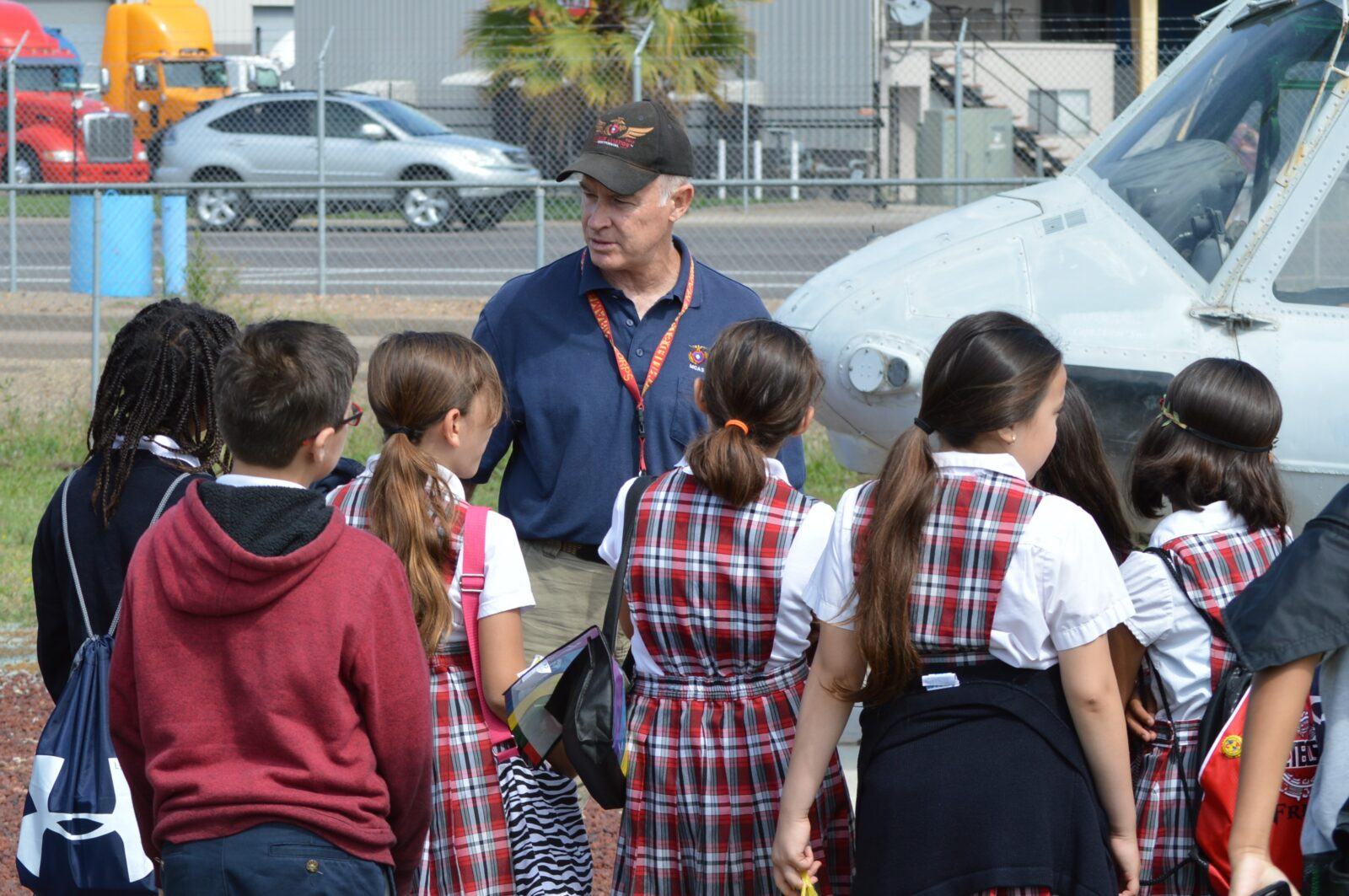 School Tours at the Flying Leatherneck Aviation Museum