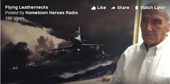 Flying Leatherneck Historical Foundation Major General Bob Butcher (USMC Ret.) interview with Hometown Heroes Raido Aviation Art and NASA Flight Logos