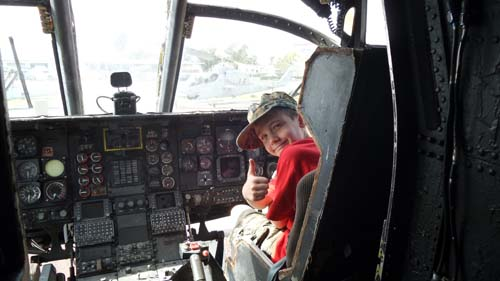 Open Cockpit Days at the Flying Leatherneck Aviation Museum