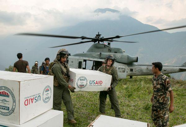 USMC Humanitarian Missions