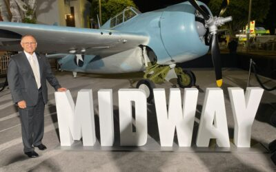 F4F Wildcat Goes To Hollywood for Midway Premiere