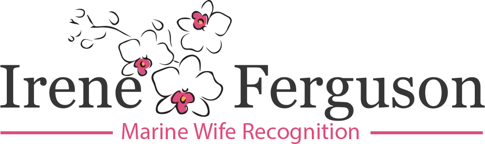 Logo for the Marine Wife Recognition Award