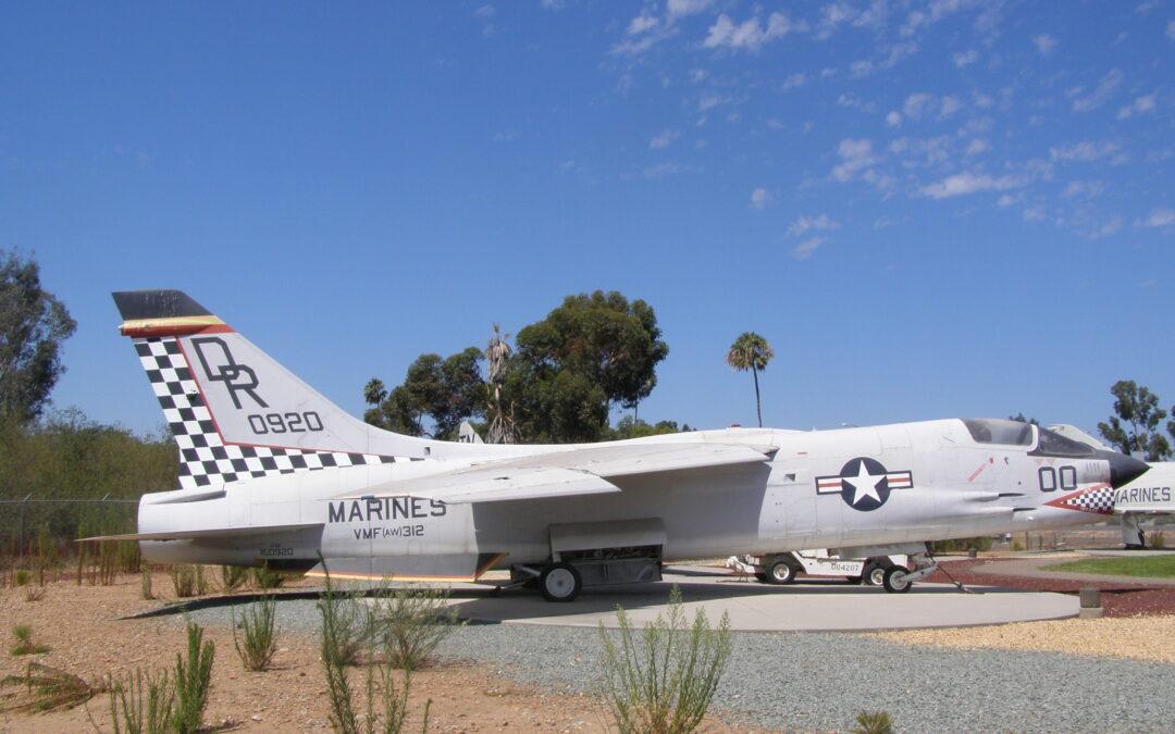VOUGHT F8U-2NE (F-8E,J) CRUSADER