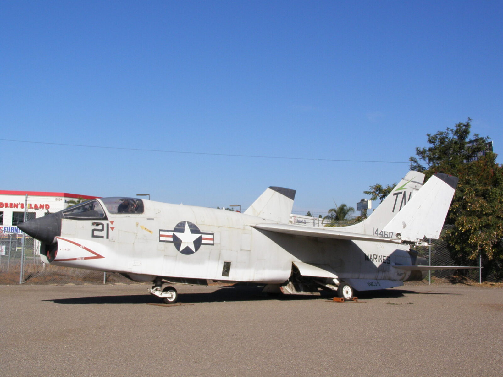RF8G Crusader, photo recon aircraft