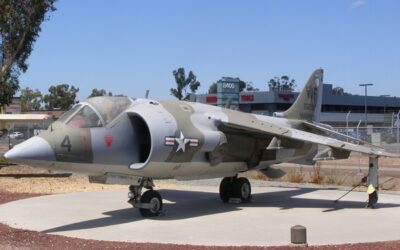 AV-8 Harrier and an Update on the Museum