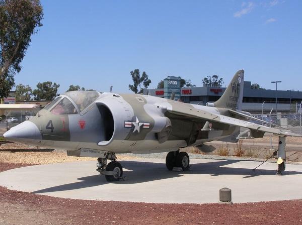 AV-8 Harrier and an Update on the Museum